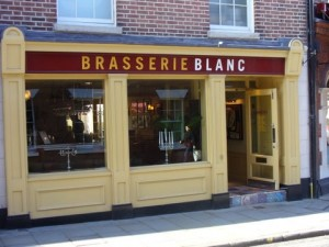 Would you like fries - I mean frites - with that? Blanc Brasserie, coming to a Perfectshire near you soon...?