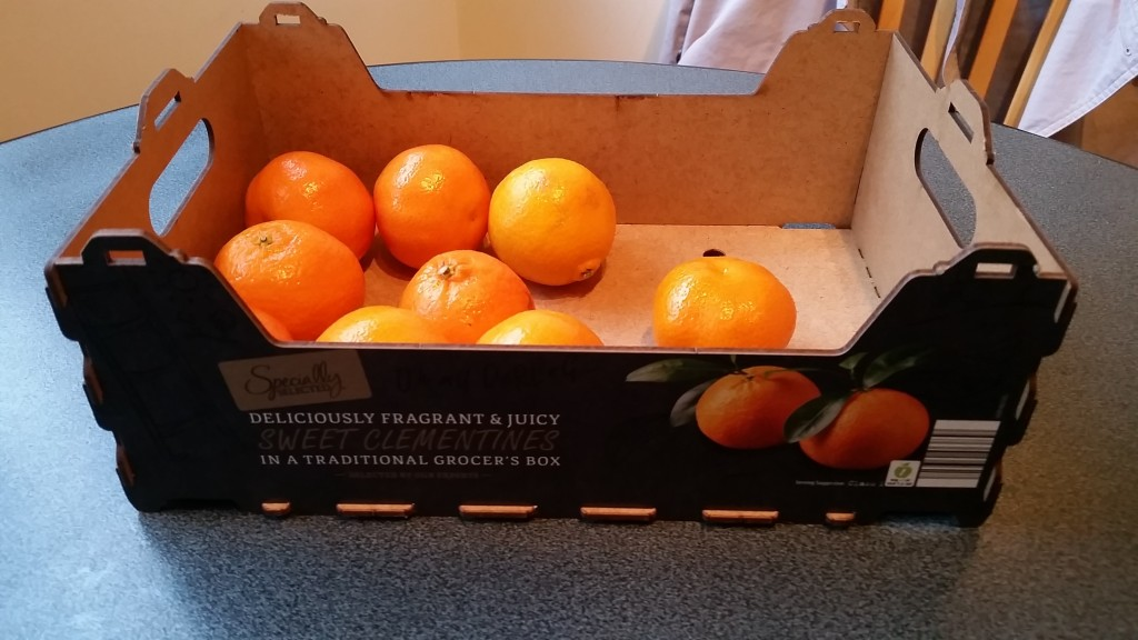 Aldi's 'traditional' Christmas 'Orange' Day Parade?
